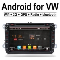 Android 4 4 Car Stereo Radio For Vw Passat B6 Golf 5 Quad Core 7 Inch