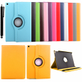 For Apple Ipad 2 3 4 PU Leather Smart Case + Bracket Flip Stand 360 Degree Rotating Book Cover Holder with belt buckle