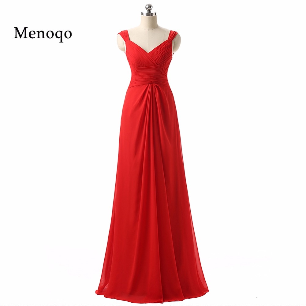 Customized V neck Red Long   Bridesmaid     Dresses   2019 Real Photo vestidos de Festa Wedding Party   Dresses   DB22002