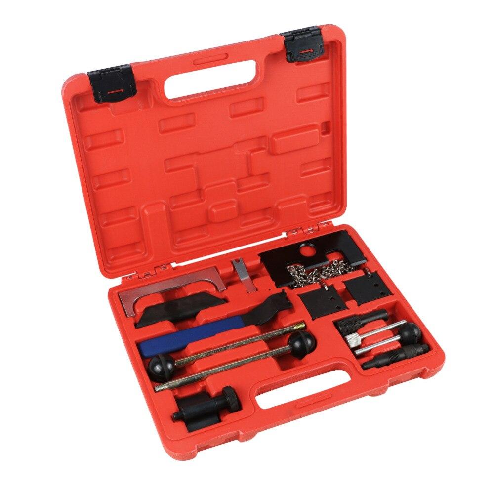 Ensemble d'outils de distribution de voiture MR CARTOOL pour Volkswagen Audi Kit d'outils à main de démontage de réparation automatique moteur d'entretien de pièces automobiles