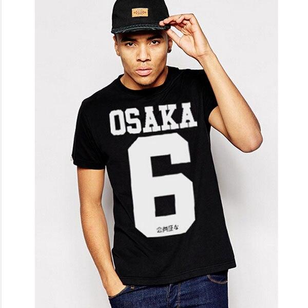2017 nueva camiseta de marca para hombre, camiseta de estilo DANDY, camisetas de estilo PYERX ASAP Rocky, 100% algodón, moda de Japón, 6