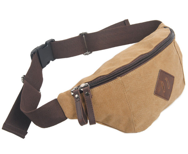 Novo 2014 Da Marca de Moda Casual Carteiras Chave Saco Da Câmera saco cinto Homens Cintura Pacotes de Sacos de Lona de Lazer para fora da porta