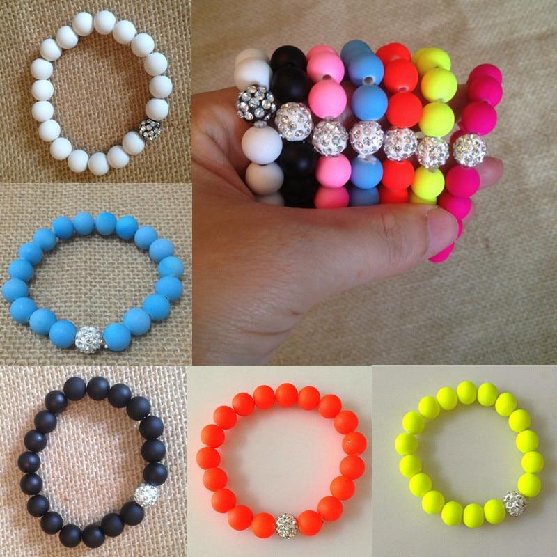 lnrrabc bracelet femme rhinestones beads charm bracelets. Black Bedroom Furniture Sets. Home Design Ideas