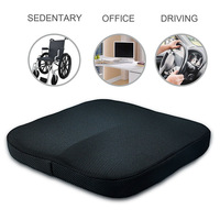 New Style Memory Cotton Gel Seat Cushion Soft Comfortable Seat Pads for Car Office Home Chair Bottom Seats Massage Cushion PadAA