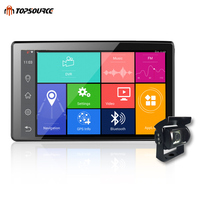9 Inch Ips Sceen Truck GPS DVR Tablet Navigation With Adas Android 4 4 Allwinner V40
