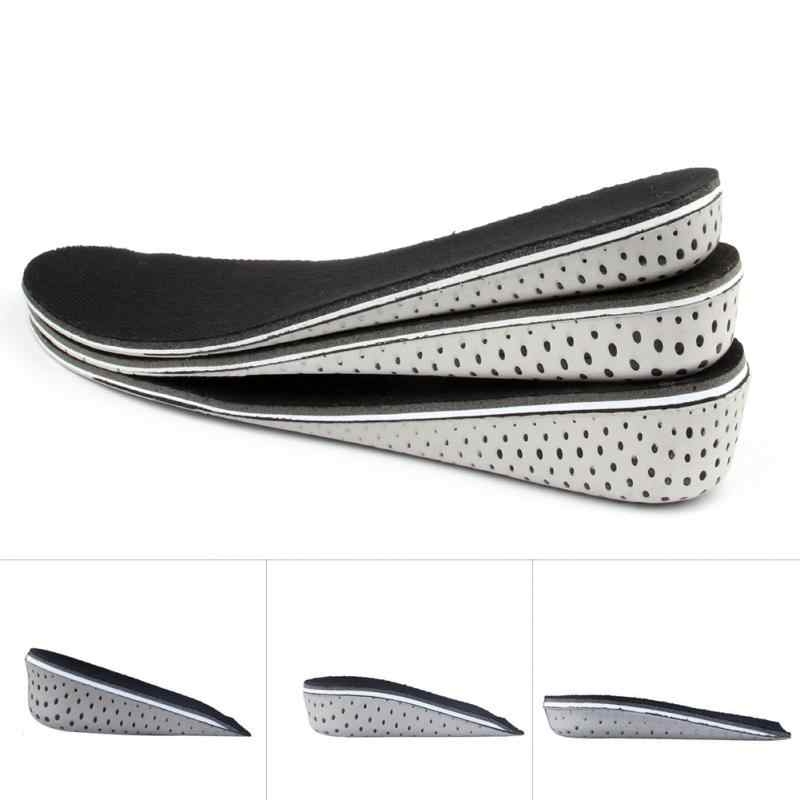 d09716e381 ... 1 Pair Comfortable Orthotic Shoes Insoles Inserts High Arch Support Pad  for women men Lift Insert ...