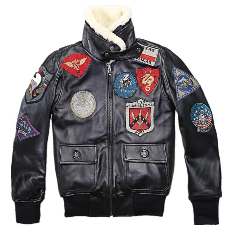 Ayesha Mens Leather Jackets Motorcycle Bomber Biker Genuine Lambskin 54