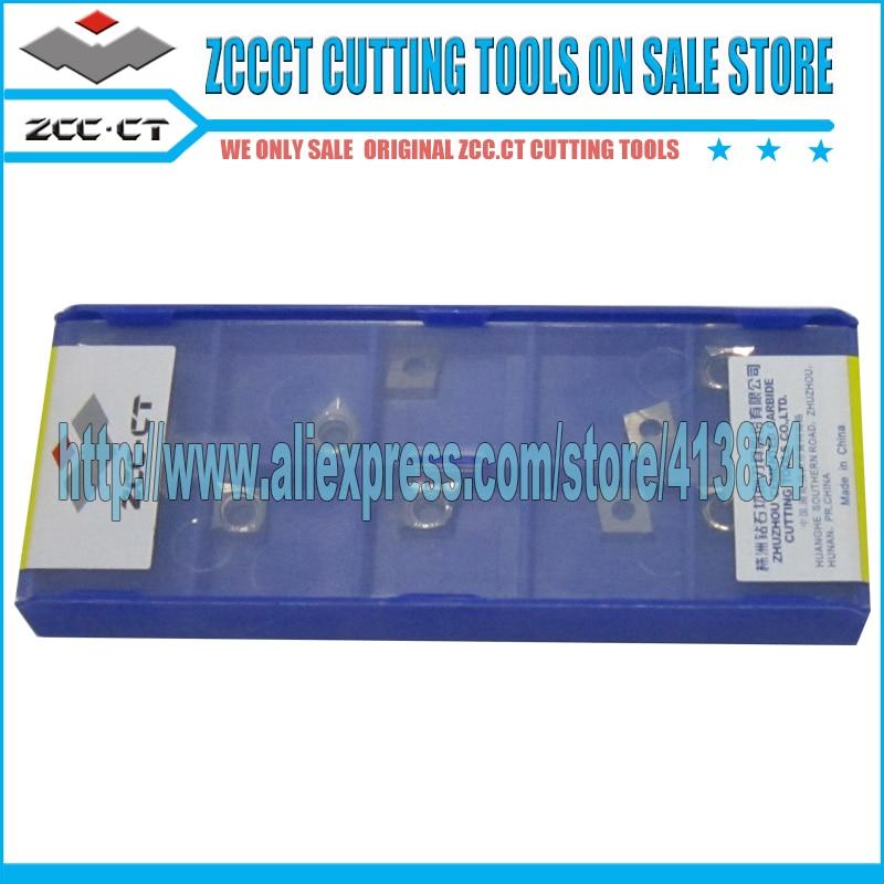 50pcs zccct carbide CCGX060204 LH YD101 CCGX CCGX06 CCGX 060204 lh ZCC CT plate for aluminum