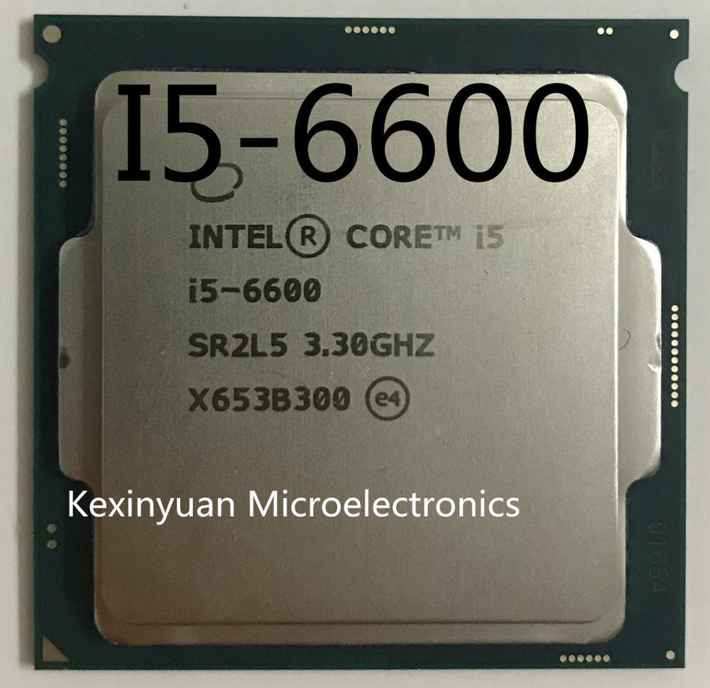 Processeur Intel Core i5 6600 3.3GHz 6M Cache Quad Core ordinateur de bureau LGA1151 CPU