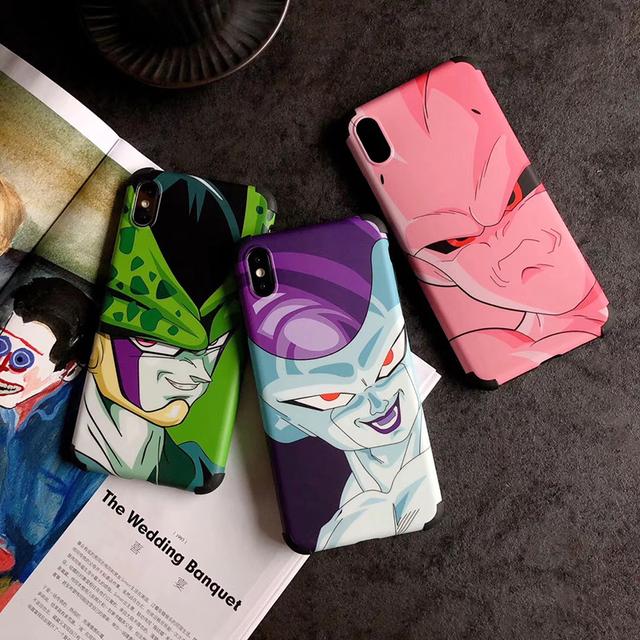 New Dragon Ball Super Military Anti-fall soft silicon cover case