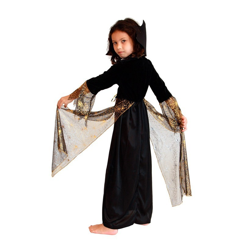 online shop free shipping brown new beautiful spider girl children cosplay costume hallowean party witch costumes for kids cute dresses aliexpress mobile - Spider Witch Halloween Costume