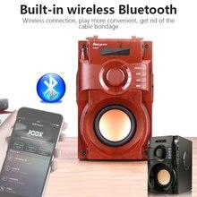 Сабвуферный микрофон с Блютуз на открытом воздухе громкоговоритель Bluetooth MP3 Беспроводной Bluetooth Динамик Универсальный Портативный