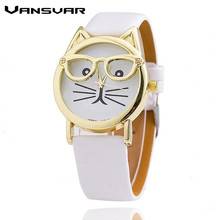 Cat Fashion Quartz Watche