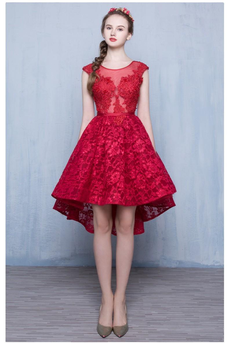 2016-Vinho-Tinto-Moda-Rendas-Sem-Mangas-Um-lin-Vestido-de-Cocktail-Curto-Da-Noiva-Vestido (2)