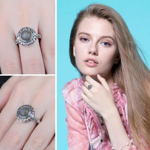 Image 4 - Jewelrypalace Винтаж 1.8ct натуральная Лабрадорит резные Solitaire палец кольцо стерлингового серебра 925 Элитный бренд хороший Красивые ювелирные изделия