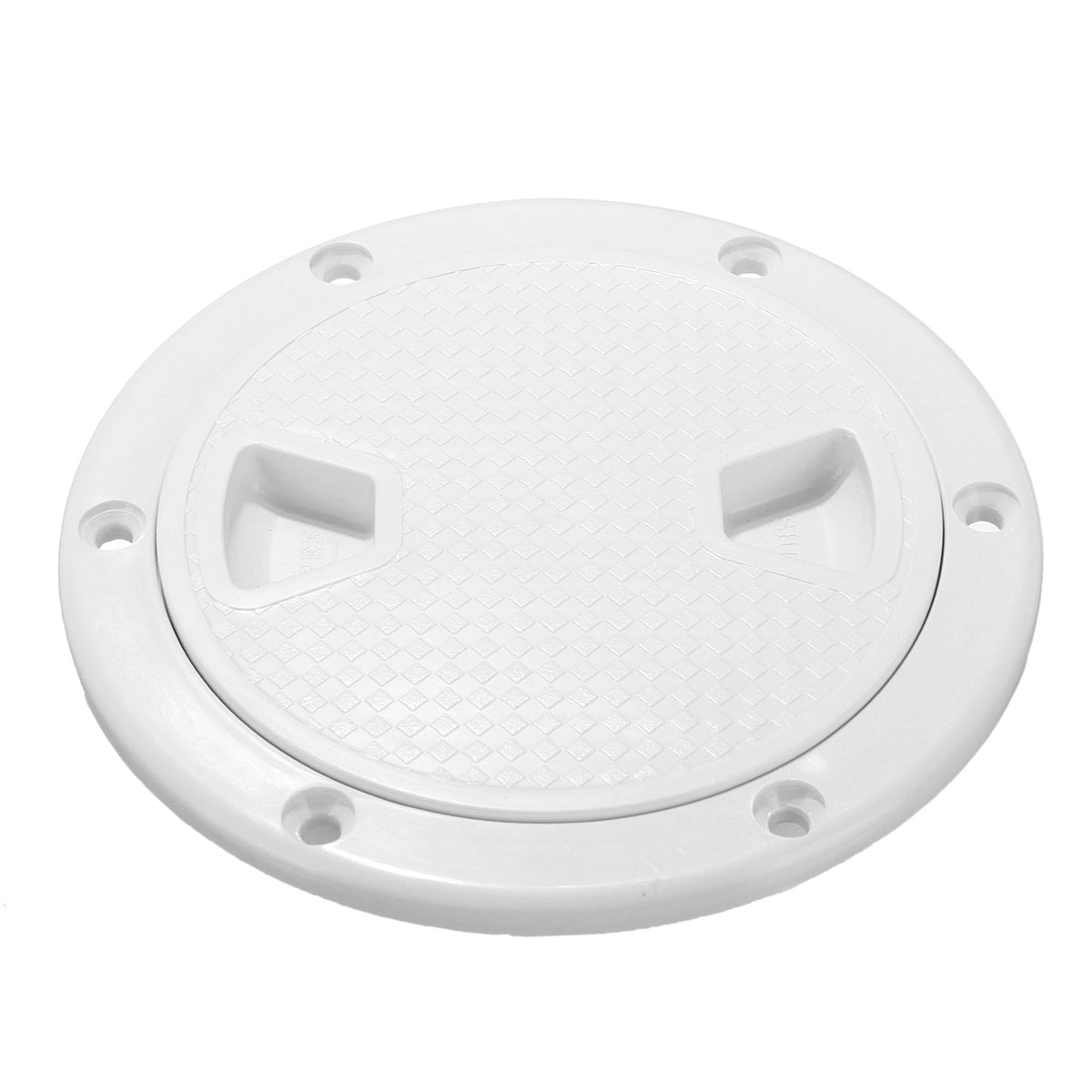 4//6//8 Inch Hatch Round Plastic Cover Deck Plate Non Slip Inspection For Boat
