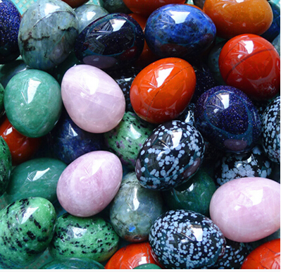 New arrival mixed color and material stone  Eggs Natural Gemstone Bell Chakra Healing Reiki Stone Carved Crafts rakesh kumar tiwari and rajendra prasad ojha conformation and stability of mixed dna triplex