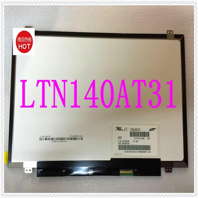 14 '' pantalla delgada led 30 pin Compatible LTN140AT31 N140BGE-E33 N140BGE-E43 N140BGE-EB3 / EA3 / EA2 HB140WX1-301 / 401 / 501