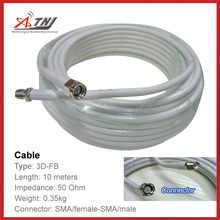 New Arrival !!Top Quality ,ATNJ 3D-FB  10m SMA-Female/SMA-Male Coaxial Cable