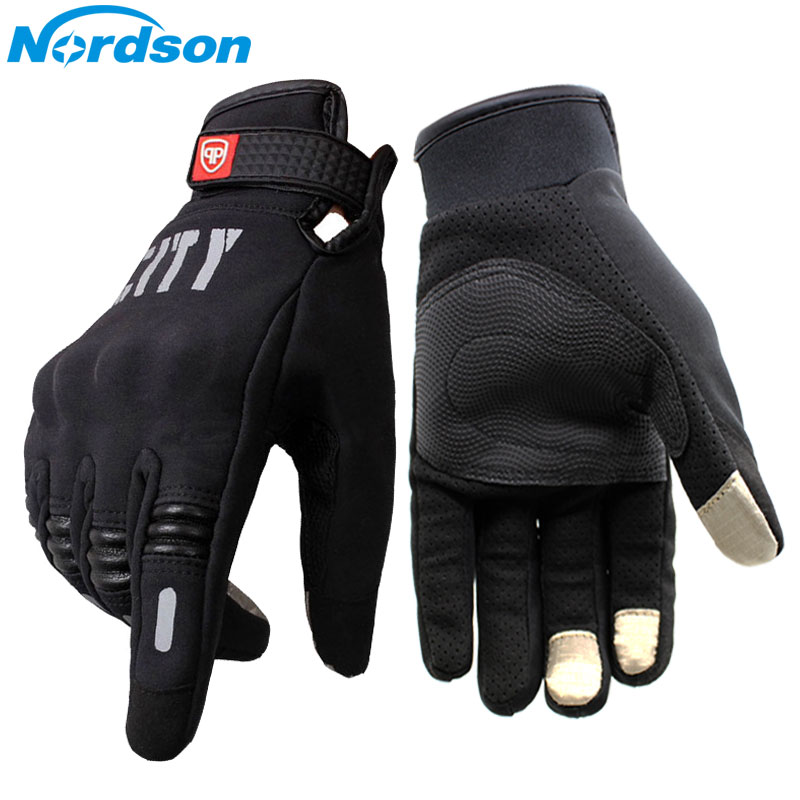 Nordson Motorcycle Gloves For Men Touch Screen Electric Bike Glove Moto Cycling Racing Protect Gear Guantes Moto Luvas da motoci blue warmth off road dirt pit bike protect motocross parts scooter bike protection hand motorcycle guantes moto luvas bike glove