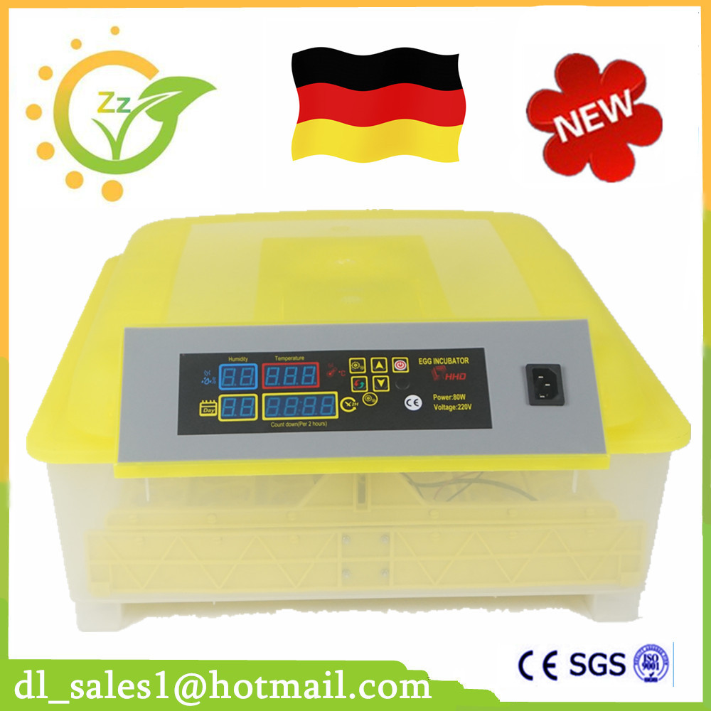 Fully Automatic Egg Incubator Mini Industrial Brooder Hatchery Machine For Hatching 48 Chicken Duck Quail Bird Poultry Eggs ce certificate poultry hatchery machines automatic egg turning 220v hatching incubators for sale