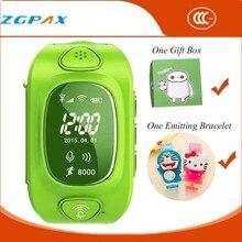 Heiße Uhr Telefon GPS Tracker Smart Uhr für Kinder Smartwatch wasserdichte SIM Silikon-band LED Reloj GPS Laufen SOS Baby Monitor