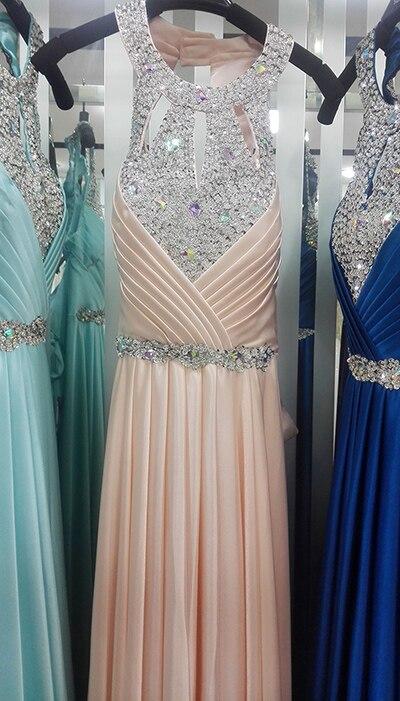 Вечернее платье,, длина до пола, сатиновые Сексуальные вечерние платья для выпускного вечера, элегантные длинные вечерние платья - Цвет: soft pink