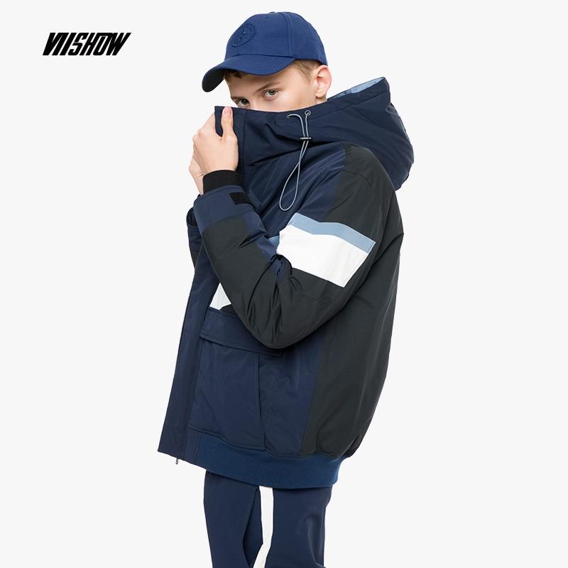 VIISHOW White Duck Men's   Down   Jacket Brand Winter Jacket For Men Doudoune Homme 2018 New Men's Winter Jacket   Coat   YC2445184
