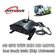Multi-language 8-channel audio input video input video 4G network GPS/WIFI DVR support Korean Japanese Russian and so on