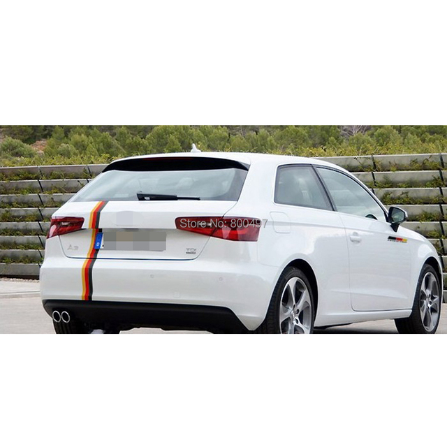 Us 23 99 30 X Deutschland Flagge Rot Gelb Schwarz Auto Aufkleber Ganzen Korper Aufkleber Fur Vw Golf Scissor Audi A1 A3 Bmw 118 116 Hyundai