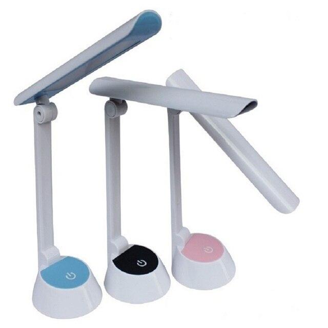 Светодиодные Чтение Стол Для Спальни исследования Регулируемый USB Светодиодный Стол Настольные Лампы Light Touch Переключатель Студент Лампы IY106118