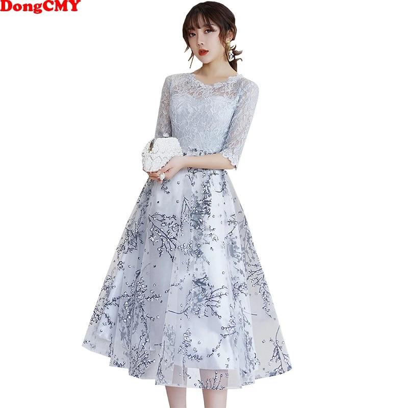 Dongcmy Short Lace Prom Dresses Elegant New Short Plus Size Fashion Party Dress Prom Dresses Aliexpress