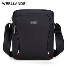 Werllands Crossbody мужской сумки 2017 дизайнер новая мода Водонепроницаемый Оксфорд Crossbody сумки для мужчин Мужская сумка с плечевым ремнем