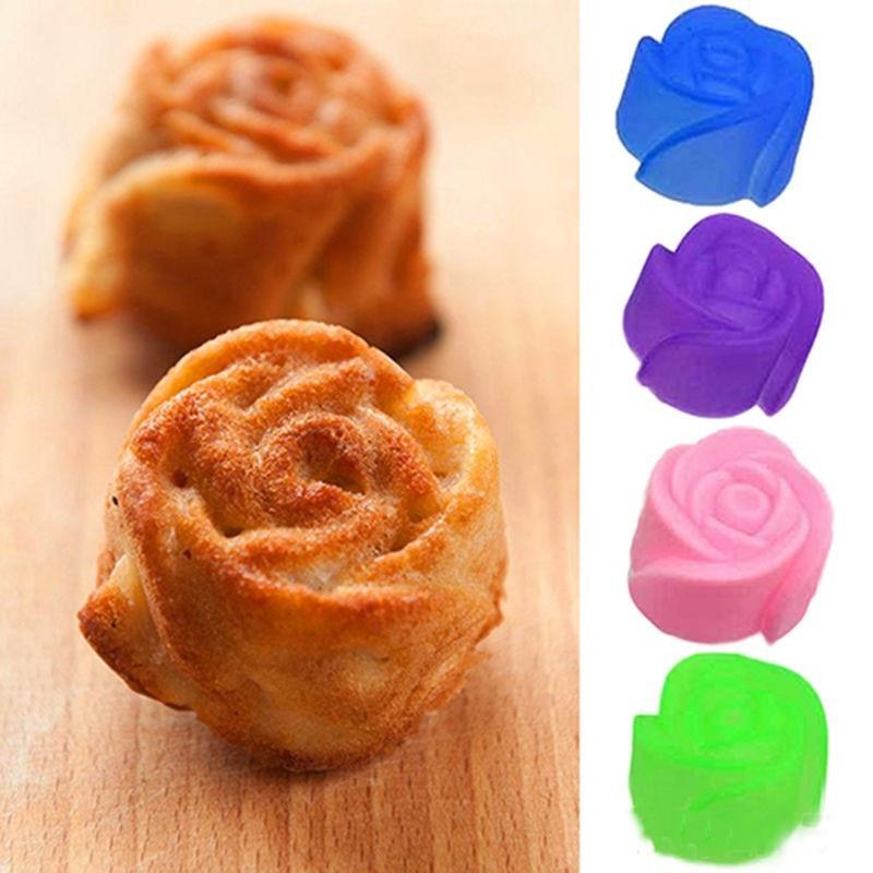 Panadería y Repostería Herramientas de cocina Color Al Azar 5 UNIDS de Silicona