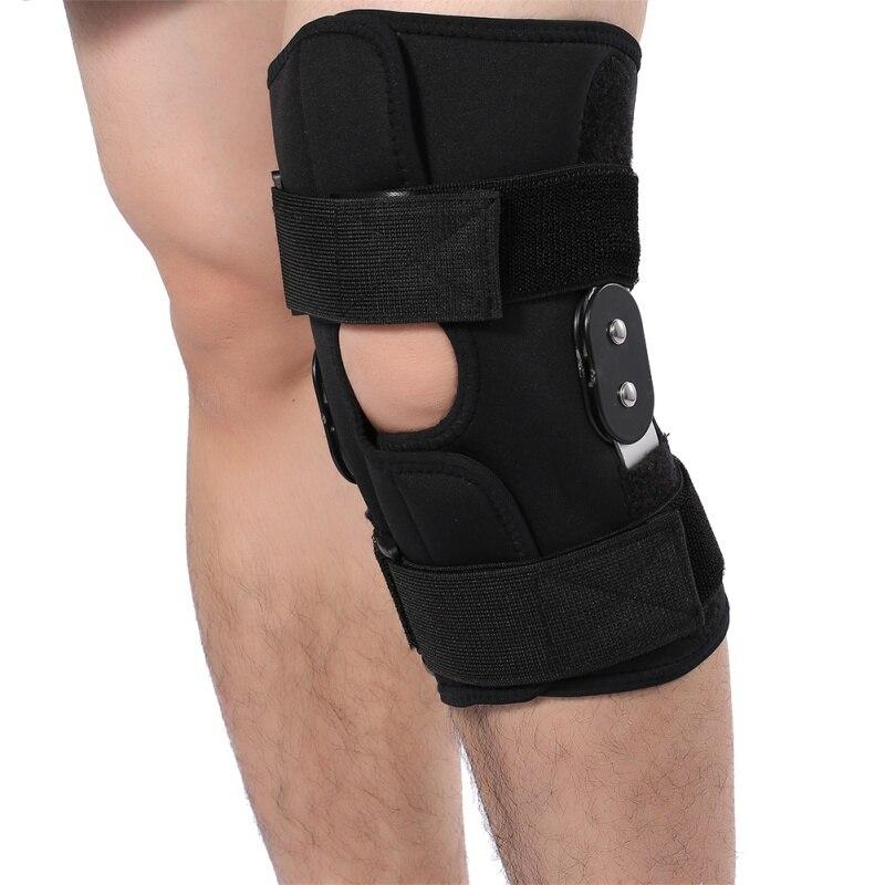 Good Knee Support Arthritis Joint Leg Compression Sleeve Hole Hinged Kneepad Adjustable Support Pad Brace Protector Bthi