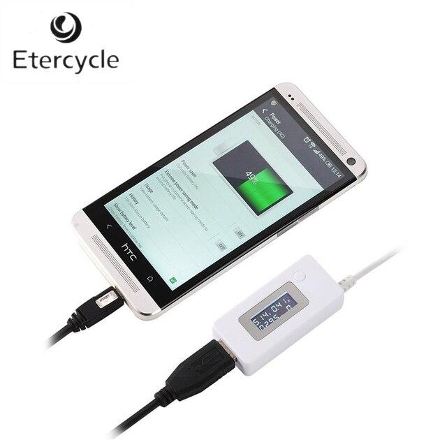 Модные ЖК-дисплей USB Зарядное устройство Ёмкость Текущий детектор Напряжение тестер USB-гаджеты для сотового телефона Запасные Аккумуляторы для телефонов USB-гаджеты