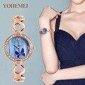 Cmk 2017 Женщин Часы Лучший Бренд Кварцевые Часы Женщин Платье 4 цвета Маленький Циферблат Браслет Часы Повседневная женские Часы наручные часы