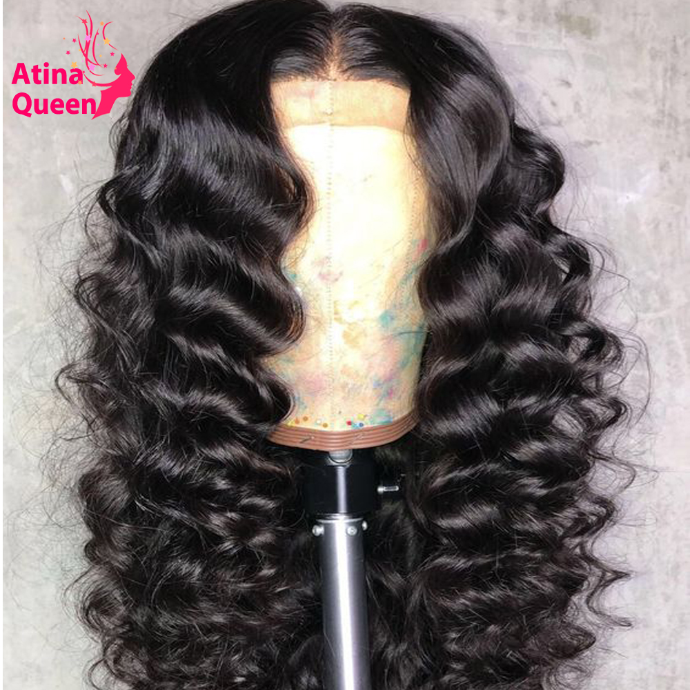 Brazilian Remy Natural Black 250% Pre Plucked Curly 360 Lace Frontal Wig With Baby Hair Lace Front Human Hair Wigs For Women-in High Density Lace Wigs from Hair Extensions & Wigs    2