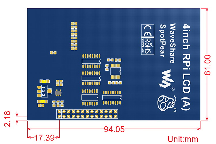 4inch-RPi-LCD-A-dimension