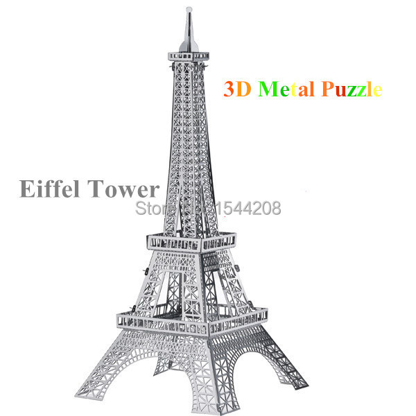 New forge world models 3D puzzle building model Eiffel Tower
