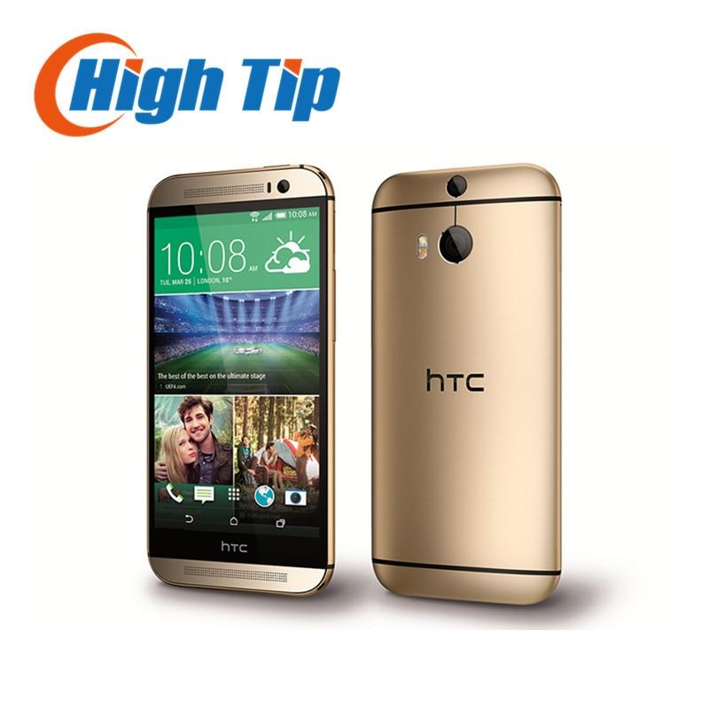 M8 Original Unlocked HTC ONE M8 Quad Core Mobile phone Android 4 4 2GB RAM 16GB