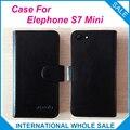 Hot!! 2016 S7 Elephone Mini Case, 6 Cores de Couro de Alta Qualidade Caso Exclusivo Para Elephone S7 Mini Tampa Saco Do Telefone de Rastreamento