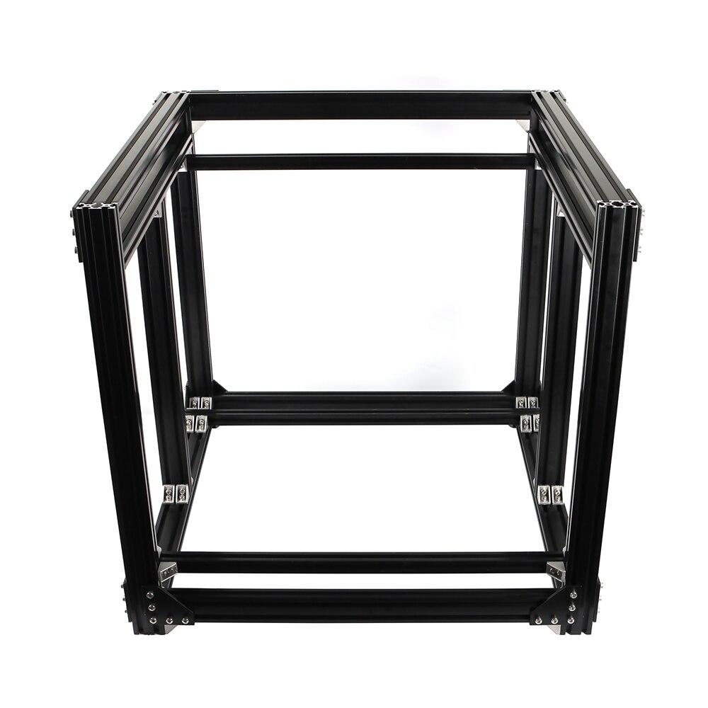 Cadre d'extrusion en aluminium pour imprimante BLV mgn Cube 3D Kit complet écrous support à vis coin pour bricolage CR10 Z hauteur 365mm - 3