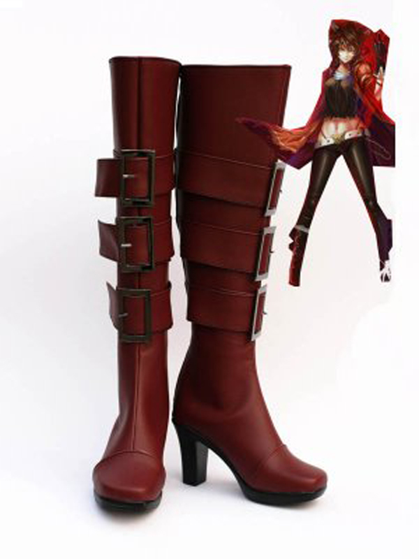 Movie Gaston Cosplay Boots Shoes Custom Made Any Size