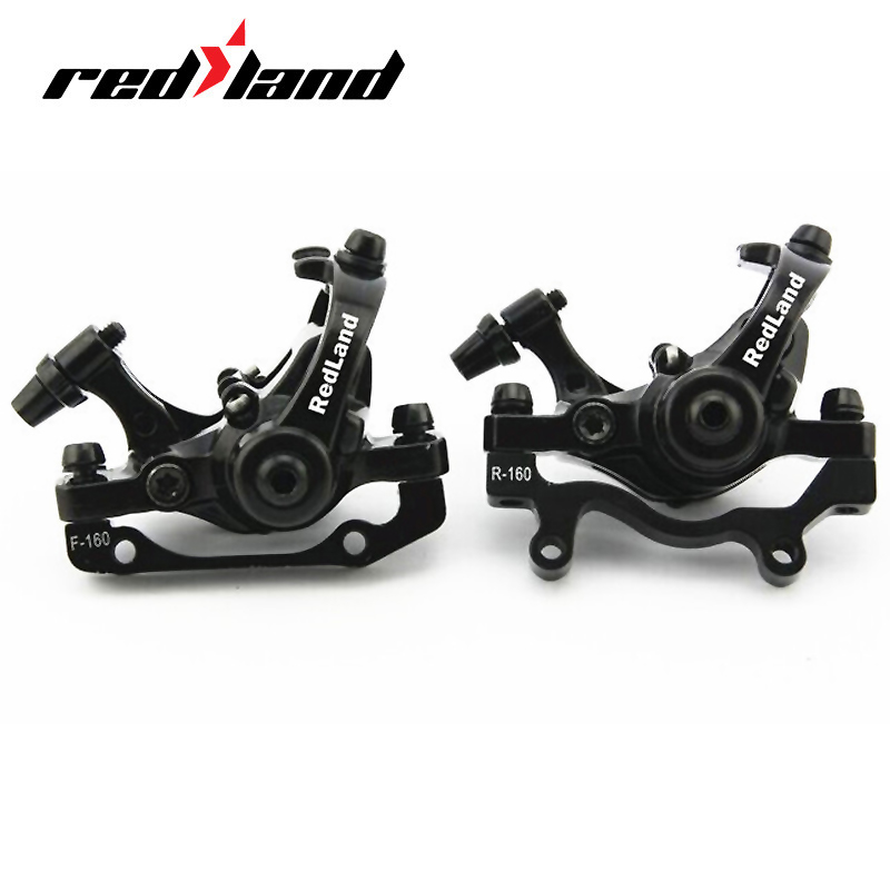 RED LAND Bicycle Hydraulic Disc Brake Deore Double Push-pull MTB Bike Parts Mechanical Remmen Voor Fiets Roa Bisiklet Aksesuar