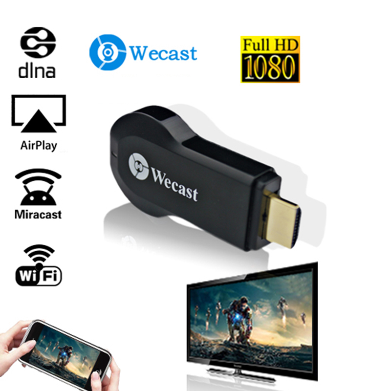 WECAST C3 Mirroring TV Stick Miracast Dongle Mit DLAN Mirroring Technologie Mirroring Gerät Für Projekt PC Mobile Display