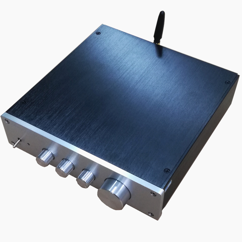 size 208*116*50MM 2017 aluminum amp chassis //home audio amplifier case