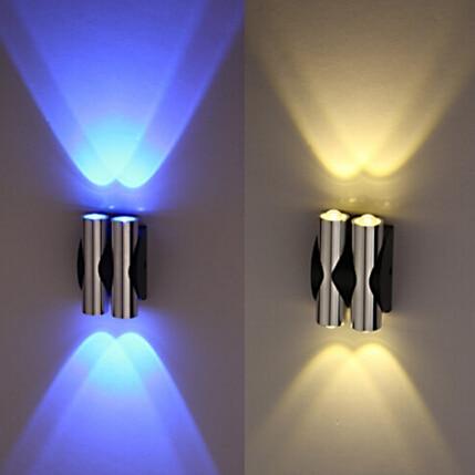 AC185 265V 2W4W6W LED Wall Lamps Indoor Aluminum light ...