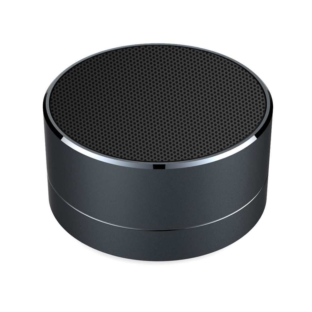 US $9 45 |AKASO A10 wireless bluetooth speaker metal mini portable sound  with Mic TF card FM Radio MP3 music play loudspeaker-in Portable Speakers