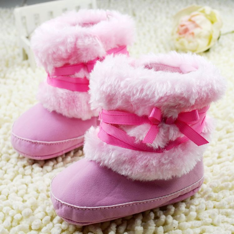 Winter-Warm-First-Walker-Baby-Girl-Toddler-Boots-With-Butterfly-knot-Anti-slip-Shoes-3